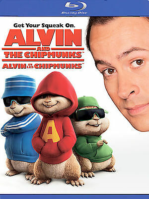 ALVIN AND THE CHIPMUNKS (Blu-ray/DVD,2009)