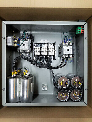 20hp Cnc Balanced 3 Phase Rotary Converter Panel