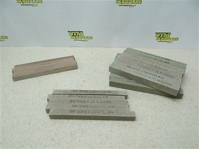 """New!!! Assorted Lot Of 24 Abrasive Sticks 1/2"""" & 5/8"""" W/120 Grit Bay State"""