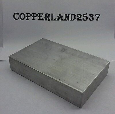 "1"" X 4"" X 6"" long new 6061 T6511 solid aluminum plate flat bar stock cnc block"