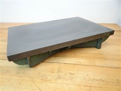 """Precision Cast Iron Surface Lapping Plate 3-5/8"""" X 11-3/4"""" X 18"""""""