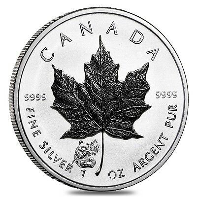 2016 Silver Canadian $5 Maple Leaf Panda Privy Reverse Proof .9999 - 1 oz Coin