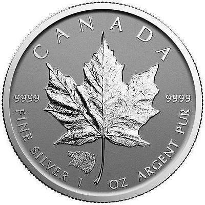 2016 Silver Canadian $5 Maple Leaf Grizzly Bear Privy Reverse Proof - 1 oz Coin
