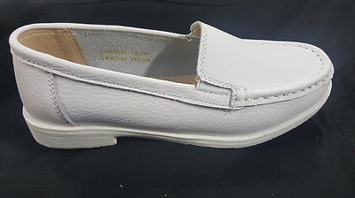 White Nursing Shoes/white Usher Shoes/ladies Church Shoes- Size/ 6 To 10
