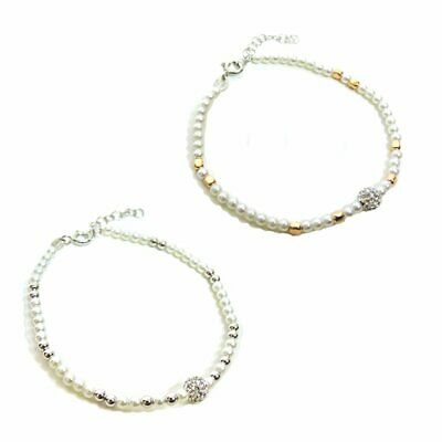 925 Sterling Silver Bracelet with Pearls and Zircons Sphere by Damiano Argenti