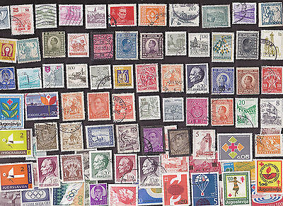 300 All Different YUGOSLAVIA  Stamps (LOT S)