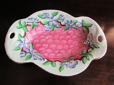Maling Embossed Blossom Bough Rose Pattern 6565 c.1930s