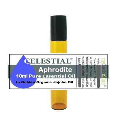 APHRODITE APHRODISIAC PURE 100% ESSENTIAL OIL BLEND 10ml ~ SET THE MOOD ROLL ON