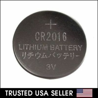 3 Volt CR2016 CR 2016 DL2016 BR 2016 Lithium Button Cell Battery Remote USA Ship
