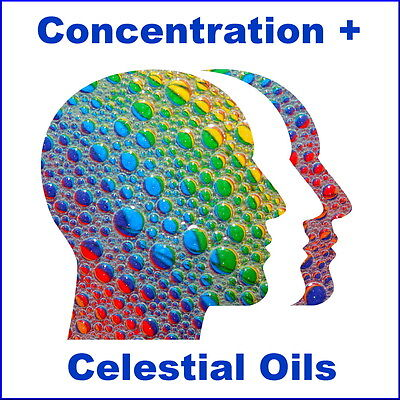 CONCENTRATION + PURE 100% ESSENTIAL OIL BLEND ROLL ON ~ 10ml UPLIFTING STUDY
