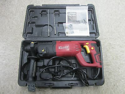 """Chicago Electric 69276 Corded 1"""" SDS Rotary Hammer Drill 7.3 Amp Hammerdrill Kit"""