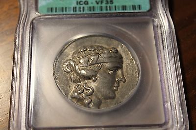 THRACIAN ISLANDS. Thasos. 148 BC. AR Tetradrachm  Graded ICG VF35