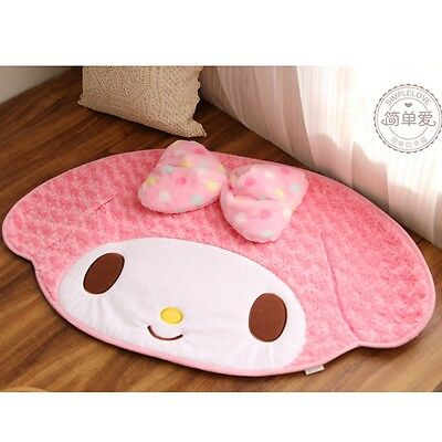 Room Christmas Cushion Cat 85*48cm  Animal My Melody Cute Mat Rug Gift