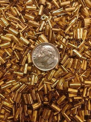 One pound brass chips turnings shavings machining 1 lb C360 yellow brass