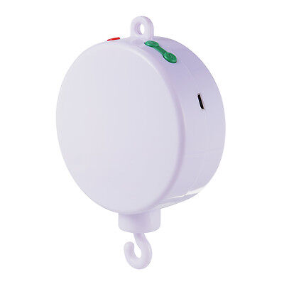 Baby Mobile Crib Bed Toy Electric Music Box Infant Bell Hook Hanger USB SD TH527