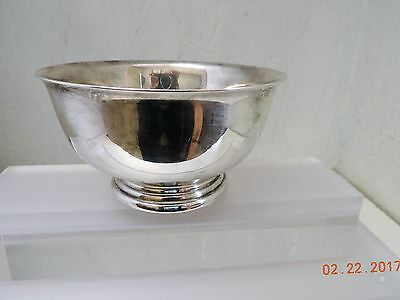 """Gorham Original Silver Plate Paul Revere 5"""" Bowl YC778 - See Pictures"""