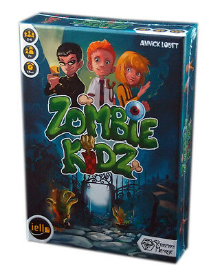 Iello Games, Zombie Kidz board Game, new and sealed,