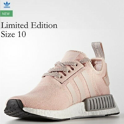 ADIDAS VAPOUR PINK Light Onix NMD R1 Shoes BY3059 NEW in Box Size 10 FAST SHIP