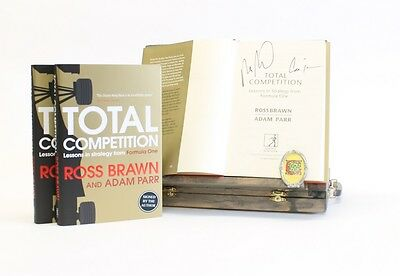 Signed Book - Total Competition by Ross Brawn and Adam Parr