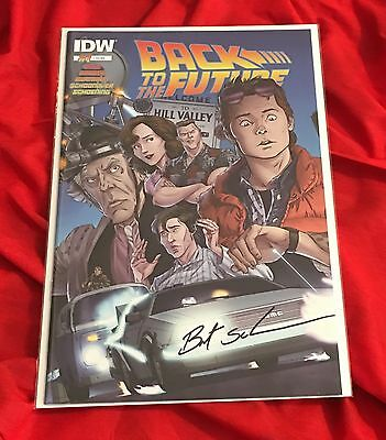 BACK TO THE FUTURE #1~1st PRINT~HAND-SIGNED BY BRENT SCHOONOVER~