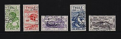 Greenland - 1935 Thule Locals, used