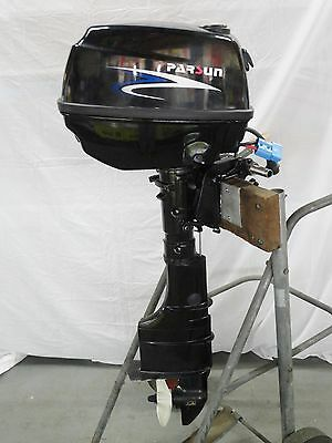 4 HP PARSUN Electric Outboard Motor for Pontoon Boat (2x E-Drive Horse  Power)