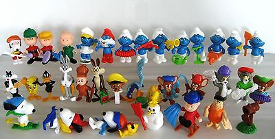 Kinder Ferrero Surprise Figure Serie Componibili Looney Snoopy Smurfs Puffi Tom