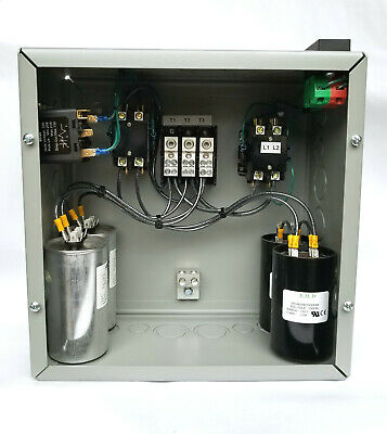 10hp Cnc Balanced 3 Phase Rotary Converter Panel