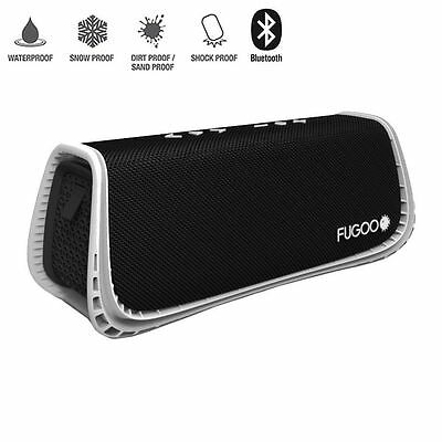 Fugoo Sport XL Portable Waterproof Speaker with Bluetooth - Black/White
