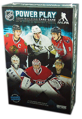 Cryptozoic Games, NHL Power Play, Team Building Card Game (Francais / English)