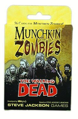 Steve Jackson Games, Munchkin Zombies, The Walking Dead Expansion