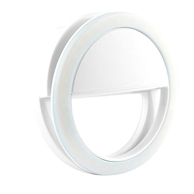 Clip on Selfie Ring Light with 36 Led Bulbs For Iphone Smart Phone Camera Round