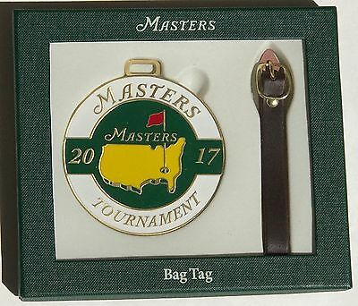 2017 Masters Bag Tag Sergio Garcia Wins Augusta National Golf