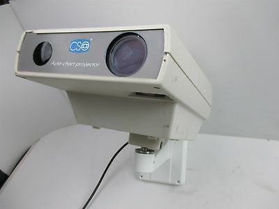 CSO Firenze Auto Chart Projector CP 2033 Optometry Doctor Office Unit Wall Mount