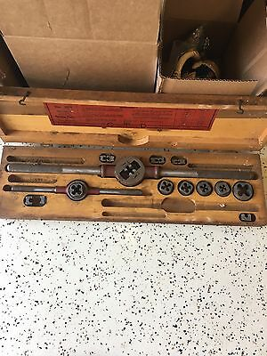 Vintage Little Giant Screw Plate Set Greenfield Tap & Die Corp.