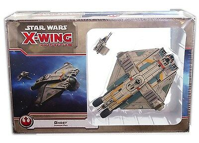 Fantasy Flight Games, Star Wars X-Wing, Empire, Rebel Ghost, New and sealed