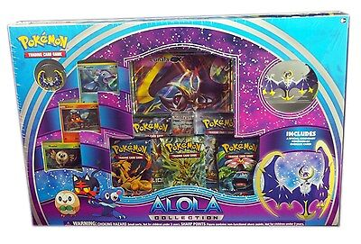 Pokemon TCG, Alola Collection, Lunala GX Box, new and sealed
