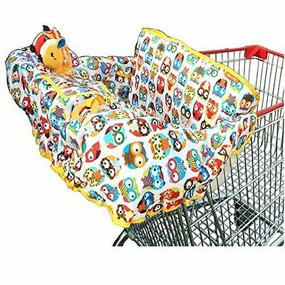 2-in-1 Cotton Shopping Cart Cover High Chair for Baby Covers Safety