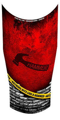 Hammer Caution Tape Bowling Compression Arm Sleeve