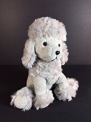 """FRENCHIE by RUSS Plush - Gray Poodle Puppy Dog - Luv Stuffed Animal 5"""""""