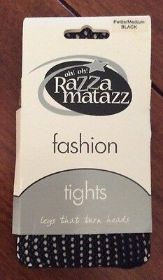 Razza Matazz Tights  - Black Petite/Medium