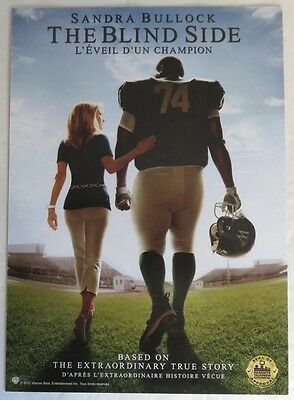 7x10 THE BLIND SIDE MINI MOVIE POSTER                  (INV13218)