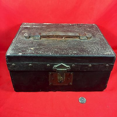 Vintage Alexander McDonald Small wooden chest  strong box