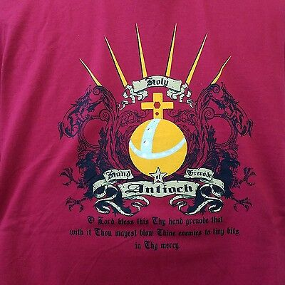 Monty Python The Holy Hand Grenade Of Antioch XXL T-Shirt With Instructions