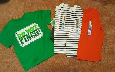 BABY TODDLER BOYS NWT LOT 4 SHIRTS 3T LONG Sleeve T-shirt