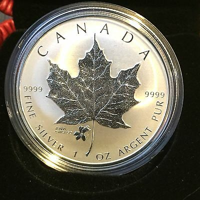 1 oz. Fine Silver Coin with ANA Privy Mark – Silver Maple Leaf – Mintage: 5,000
