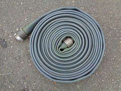 Blue Hose Water Supply Fire Hose With Couplers Length 50ft