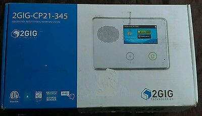(2x) 2GIG Technologies 2GIG-CP21-345 Go!Control Security & Automation System