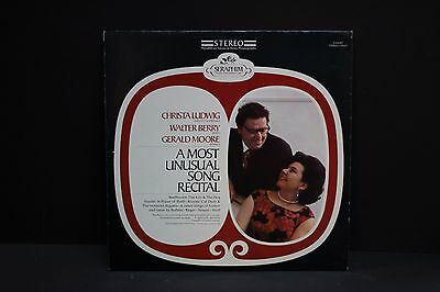 LP: Christa Ludwig A Most Unusual Song Recital Walter Berry Seraphim