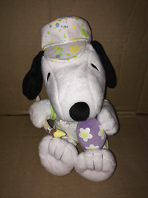 "Hallmark Snoopy Easter Plush - ""Easter Egg Painter"" Snoopy"